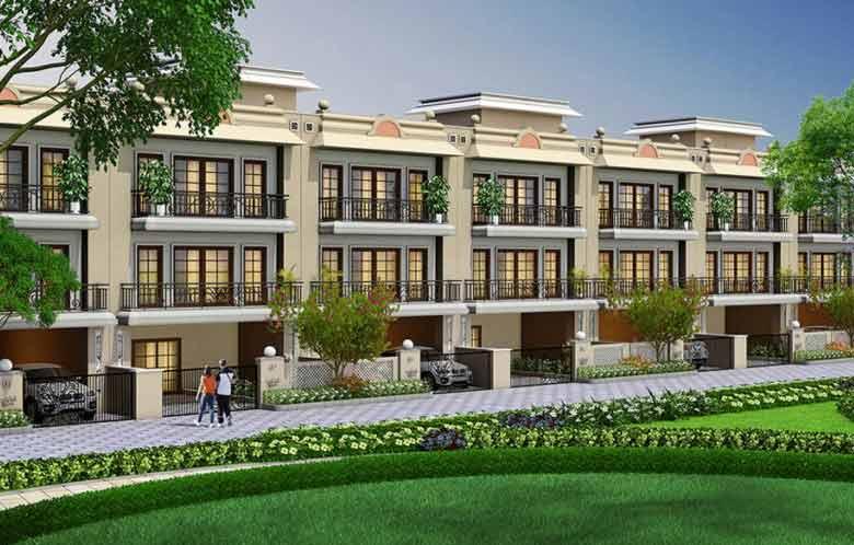 Gaur Krishna Villa Plot Area
