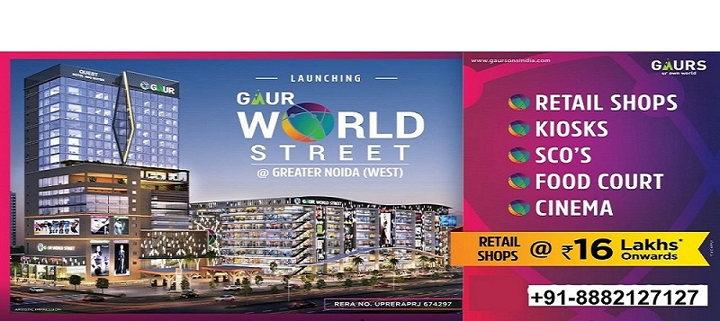Gaur World Street Mall