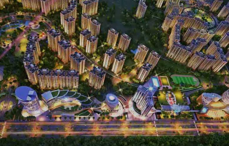 Gaur Yamuna City 6th Parkview